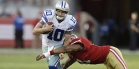 After Struggles Versus 49ers, Dustin Vaughan Is Down, But Romo's Own Past Suggests He Is Anything But Out