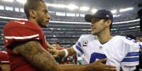 For Romo & Kaepernick, Sunday Night Is More Than Just Another Preseason Game