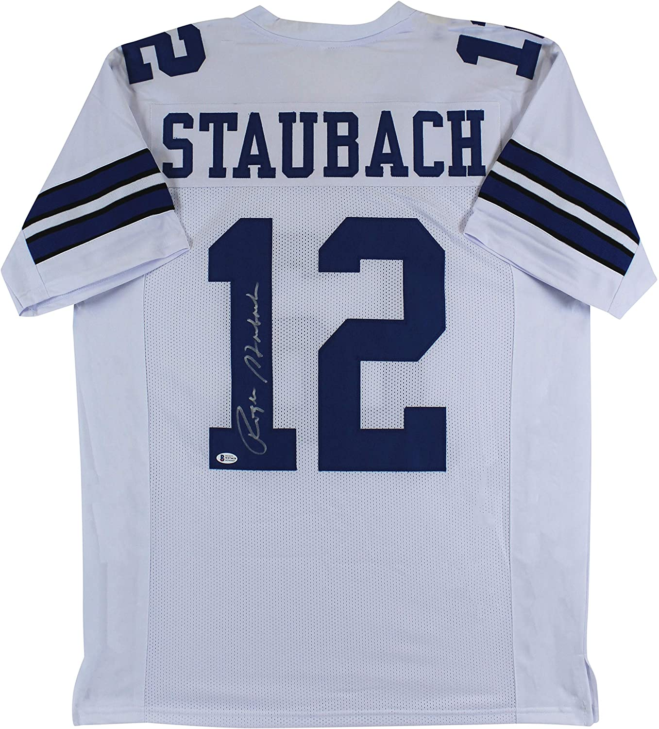Your Jersey, Football or Helmet - Signed by Roger Staubach of the Dallas Cowboys